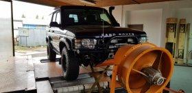 Chiptuning včetně měření na válcové zkušebně vozu Land Rover Discovery 2.5 TD5