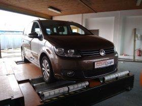 Chiptuning včetně měření na válcové zkušebně vozu VW Touran 1.4 TSI