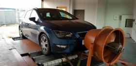 Chiptuning včetně měření na válcové zkušebně vozu SEAT LEON III - 1.8 TSI, 132 KW