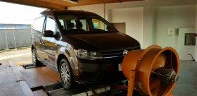 Chiptuning včetně měření na válcové zkušebně vozu VOLKSWAGEN CADDY - 2.0 TDI, 110 KW