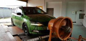 Chiptuning včetně měření na válcové zkušeně vozu Škoda Fabia 1.2 TSI