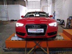 Chiptuning včetně měření výkonu vozu Audi A5 - 2.0 TDI CR, 130 kW