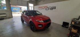 Chiptuning včetně měření výkonu vozu Land Rover Evoque - 2.2 ED4, 140 kW