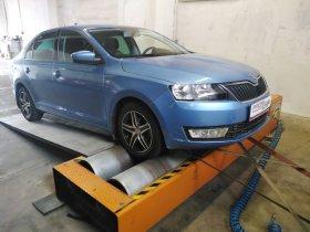 Chiptuning včetně měření výkonu vozu Škoda Rapid - 1.2 TSI, 63 kW