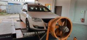 Chiptuning včetně měření výkonu vozu Volkswagen Passat B6 - 1.9 TDI