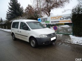 Chiptuning Volkswagen Caddy 1.9 TDI