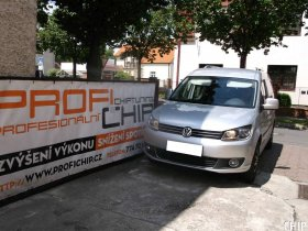 Chiptuning Volkswagen Caddy 2.0 TDI-CR