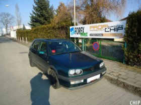 Chiptuning Volkswagen Golf 3 1.6i