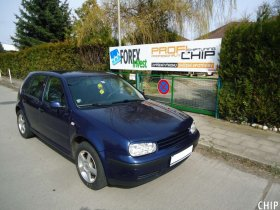 Chiptuning Volkswagen Golf 4 1.9 TDI