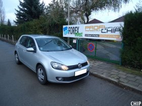 Chiptuning Volkswagen Golf 6 1.4i