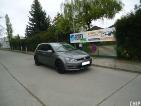 Chiptuning Volkswagen Golf 7 1.4 TSI