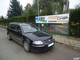 Chiptuning Volkswagen Passat B5 1.9 TDI-PD