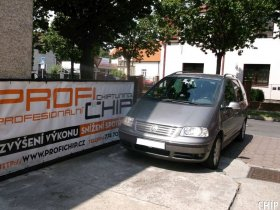 Chiptuning Volkswagen Sharan 2.0 TDI-PD