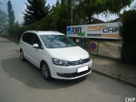 Chiptuning Volkswagen Sharan 2.0 TDI
