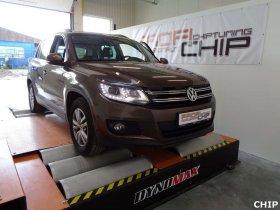 Chiptuning Volkswagen Tiguan 2.0 TDI-CR