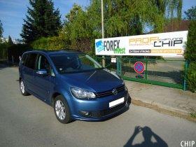 Chiptuning Volkswagen Touran 1.4 TSI