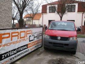 Chiptuning Volkswagen Transporter T5 1.9 TDI-PD