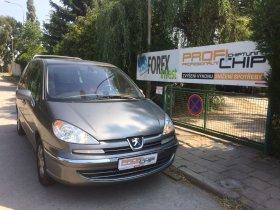 Chiptuning votu Peugeot 807 2.2 HDI, 125 kW