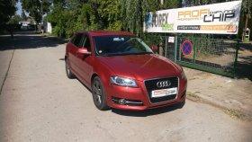 Chiptuning vozu Audi A3 1.6 TDI CR, 77 kW