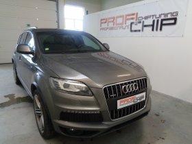 Chiptuning vozu Audi Q7 3.0 TDI
