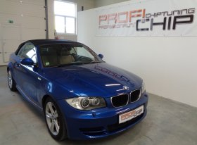 Chiptuning vozu BMW 120D