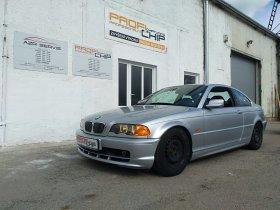 Chiptuning vozu BMW 3 E46 323i, 125 kW