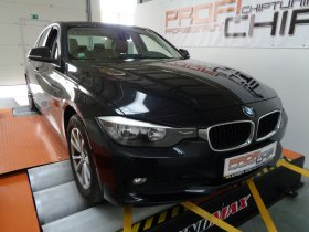 Chiptuning vozu BMW 320D