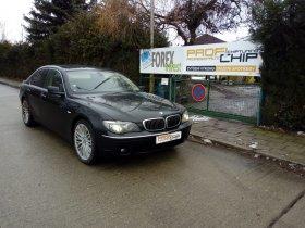 Chiptuning vozu BMW 7 E65 - 730 D, 170 kW