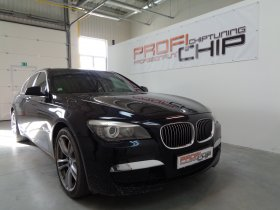 Chiptuning vozu BMW 730D