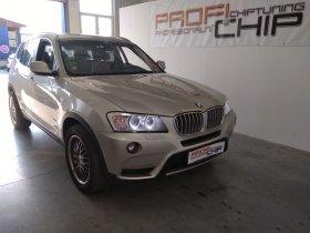 Chiptuning vozu BMW X3 30D