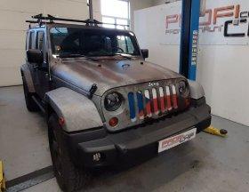 Chiptuning vozu Jeep Wrangler - 2.8 CRD 130 kW.