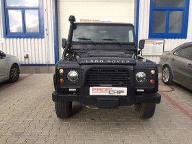 Chiptuning vozu Land Rover Defender - 2.4 TD, 90 kW
