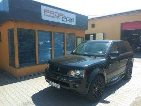 Chiptuning vozu Land Rover - Range Rover 3.0TD V6 - Sport