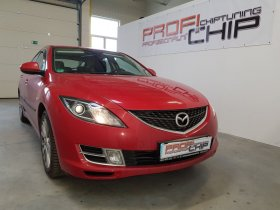Chiptuning vozu Mazda 6 1.8i