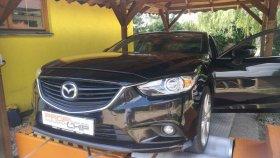 Chiptuning vozu Mazda 6 2.2 SkyActiv-D, 129 kW