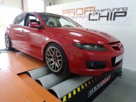 Chiptuning vozu Mazda 6 2.3 MPS