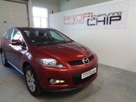 Chiptuning vozu Mazda CX 7 2.3 Turbo