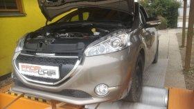 Chiptuning a měření na válcové zkušebně vozu Peugeot 208 1.4 HDI