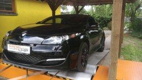 Chiptuning včetně měření na válcové zkušebně vozu Renault Megane III 2.0 RS - Sport - 195 kW