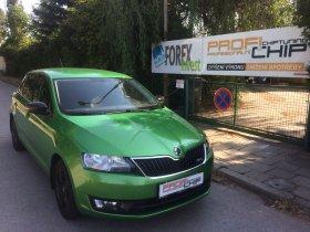 Chiptuning vozu Škoda Rapid - 1.2 TSI, 66 kW