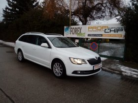 Chiptuning vozu Škoda Superb - 2.0 TDI-CR, 125 kW