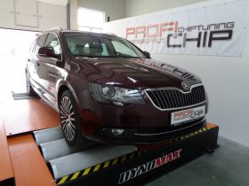 Chiptuning vozu ŠKODA SUPERB 2.0 TDI