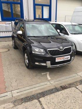 Chiptuning vozu Škoda Yeti - 2.0 TDI-CR, 125kw