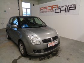 Chiptuning vozu Suzuki Swift 1.3 I
