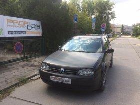 Chiptuning vozu Volkswagen Golf 4, 1.9 TDI-PD, 74 Kw