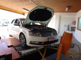 Chiptuning vozu VW Passat 2.0 TDI 4motion