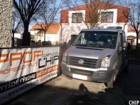 Chiptuning VW Crafter 2.0 BiTDI