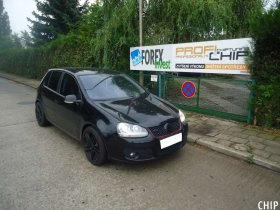 Chiptuning VW Golf 5 1.4 TSI GTI