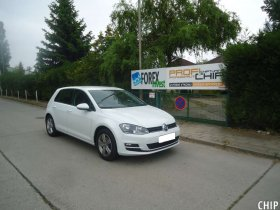 Chiptuning VW Golf 7 1.6 TDI-CR
