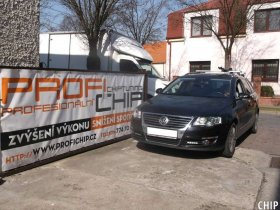 Chiptuning VW Passat B6 2.0 TDI-CR